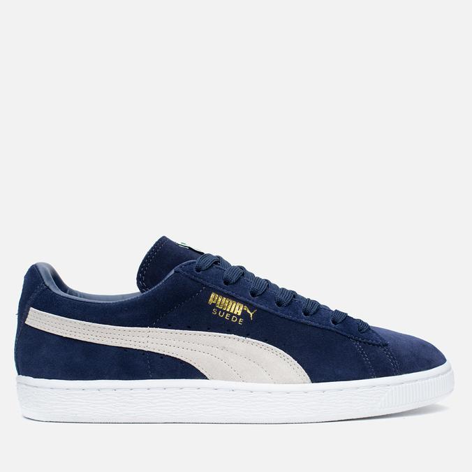 Мужские кроссовки Puma Suede Classic Eco Peacoat/White