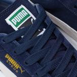 Мужские кроссовки Puma Suede Classic Eco Peacoat/White фото- 6