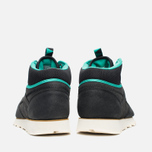 Мужские зимние кроссовки Reebok CL Leather Mid Trail Black/Green/Sepia фото- 3