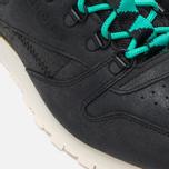 Мужские зимние кроссовки Reebok CL Leather Mid Trail Black/Green/Sepia фото- 7