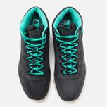 Мужские зимние кроссовки Reebok CL Leather Mid Trail Black/Green/Sepia фото- 4