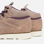 Reebok CL Leather Mid Trail Men's Sneakers Tapue/Paperwhite/Sepia/Orchid photo- 5