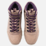 Reebok CL Leather Mid Trail Men's Sneakers Tapue/Paperwhite/Sepia/Orchid photo- 4