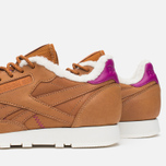 Кроссовки Reebok Classic Leather Alpine Brown Malt/Fuchsia/Chalk/Paperwhite фото- 5