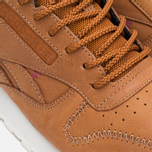 Кроссовки Reebok Classic Leather Alpine Brown Malt/Fuchsia/Chalk/Paperwhite фото- 7
