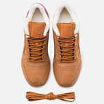 Кроссовки Reebok Classic Leather Alpine Brown Malt/Fuchsia/Chalk/Paperwhite фото- 4