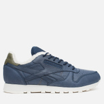 Кроссовки Reebok Classic Leather Alpine Navy/Olive/Chalk/Paperwhite фото- 0