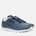 Кроссовки Reebok Classic Leather Alpine Navy/Olive/Chalk/Paperwhite фото- 1