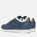 Кроссовки Reebok Classic Leather Alpine Navy/Olive/Chalk/Paperwhite фото- 2