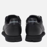 Кроссовки Reebok Classic Leather Black фото- 3