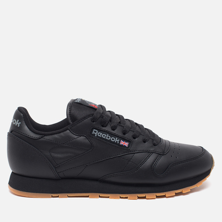 Reebok Classic Leather Sneakers Black/Gum