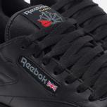 Reebok Classic Leather Sneakers Black/Gum photo- 4