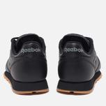 Reebok Classic Leather Sneakers Black/Gum photo- 3