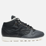 Зимние кроссовки Reebok Classic Leather Mid Sherpa Black/Gravel/Chalk/Paperwhite фото- 0