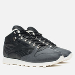 Зимние кроссовки Reebok Classic Leather Mid Sherpa Black/Gravel/Chalk/Paperwhite фото- 1