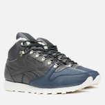 Reebok Classic Leather Mid Sherpa Men's Sneakers Grey/Navy/Chalk/Paperwhite photo- 1