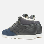 Reebok Classic Leather Mid Sherpa Men's Sneakers Grey/Navy/Chalk/Paperwhite photo- 2