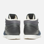 Зимние кроссовки Reebok Classic Leather Mid Sherpa Grey/Navy/Chalk/Paperwhite фото- 3