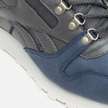 Зимние кроссовки Reebok Classic Leather Mid Sherpa Grey/Navy/Chalk/Paperwhite фото- 7