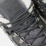 Зимние кроссовки Reebok Classic Leather Mid Sherpa Grey/Navy/Chalk/Paperwhite фото- 6