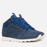 Мужские зимние кроссовки Reebok Classic Leather Mid Trail Navy/Royal/Paperwhite/Sepia фото- 1