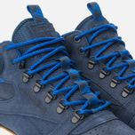 Мужские зимние кроссовки Reebok Classic Leather Mid Trail Navy/Royal/Paperwhite/Sepia фото- 5