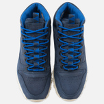 Мужские зимние кроссовки Reebok Classic Leather Mid Trail Navy/Royal/Paperwhite/Sepia фото- 4