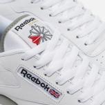 Кроссовки Reebok Classic Leather White/Grey фото- 3
