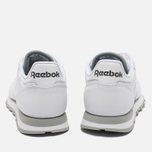 Reebok Classic Leather Sneakers White/Grey photo- 5