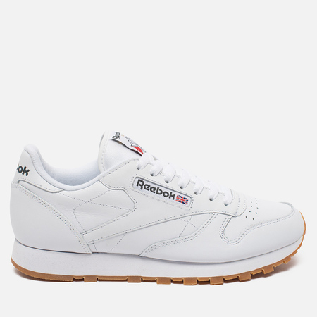 Кроссовки Reebok Classic Leather White/Gum