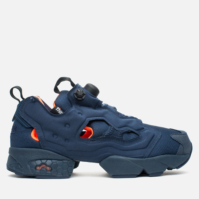 Мужские кроссовки Reebok Instapump Fury Tech Collegiate Navy/White/Solar Orange