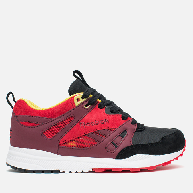 Мужские кроссовки Reebok x The Hundreds Ventilator Zodiac Pack Black/Red/White/Yellow