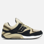 Saucony Grid 9000 Autumn Spice Pack Men's Sneakers Black/Green photo- 0