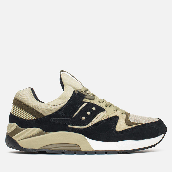 Saucony Grid 9000 Autumn Spice Pack Men's Sneakers Black/Green