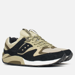 Мужские кроссовки Saucony Grid 9000 Autumn Spice Pack Black/Green фото- 1