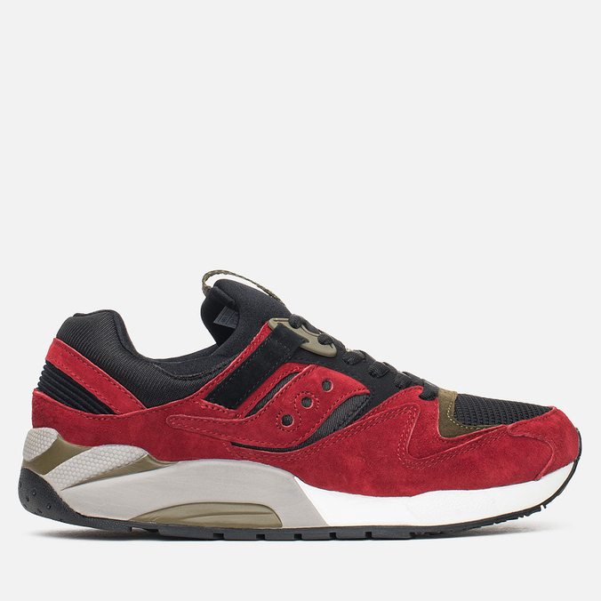 Мужские кроссовки Saucony Grid 9000 Autumn Spice Pack Red/Black