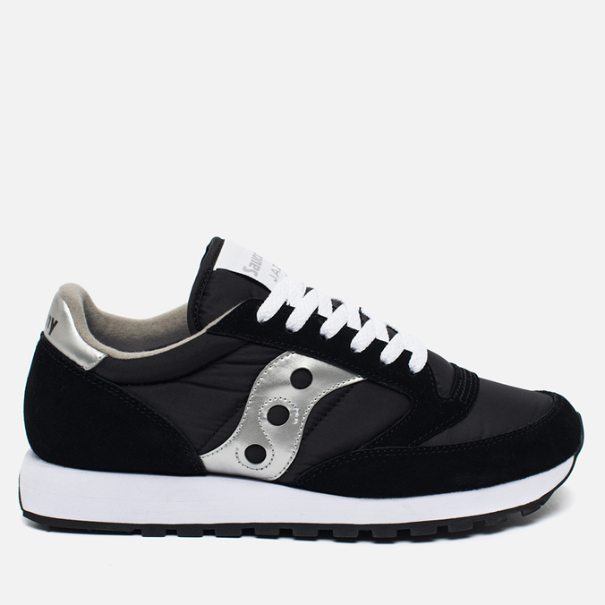 Saucony Jazz Original Men's Sneakers Black/Silver