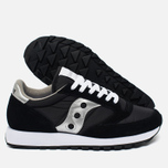 Saucony Jazz Original Men's Sneakers Black/Silver photo- 2