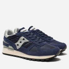 Кроссовки Saucony Shadow Original Vintage Navy/White фото- 2