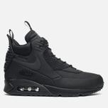Мужские зимние кроссовки Nike Air Max 90 Sneakerboot Black/Black фото- 0