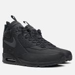Мужские зимние кроссовки Nike Air Max 90 Sneakerboot Black/Black фото- 1