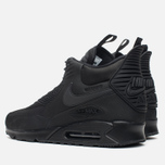 Мужские зимние кроссовки Nike Air Max 90 Sneakerboot Black/Black фото- 2