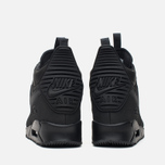 Мужские зимние кроссовки Nike Air Max 90 Sneakerboot Black/Black фото- 3