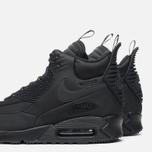 Мужские зимние кроссовки Nike Air Max 90 Sneakerboot Black/Black фото- 7