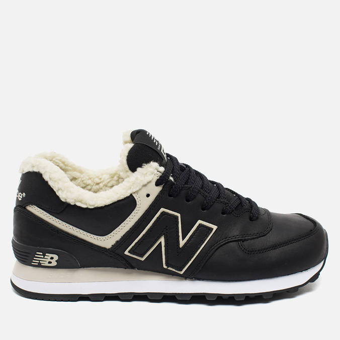 20082b01222e Зимние кроссовки New Balance ML574BL Black ML574BL
