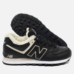 Зимние кроссовки New Balance ML574BL Black фото- 1