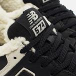 Зимние кроссовки New Balance ML574BL Black фото- 3
