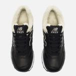 Зимние кроссовки New Balance ML574BL Black фото- 4