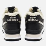 Зимние кроссовки New Balance ML574BL Black фото- 5