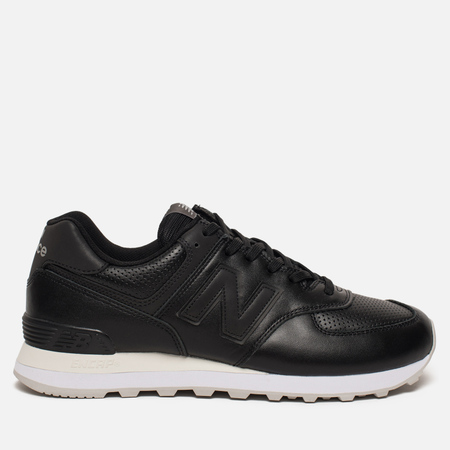Кроссовки New Balance ML574DAK Luxe Leather Black